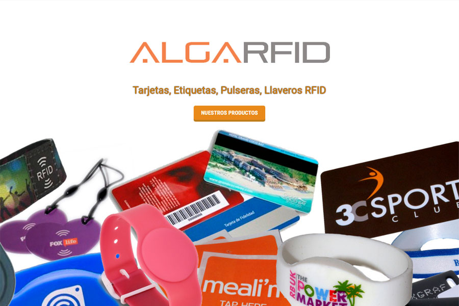 AlgaRFID - Blog de AlgaRFID, con un aspecto muy visual