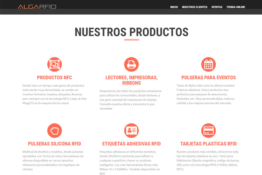 AlgaRFID - Blog de AlgaRFID, con sus productos disponibles